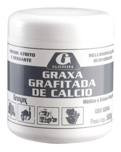 Graxa De Calcio Grafitada 500gr Medias E Baixas Rotações