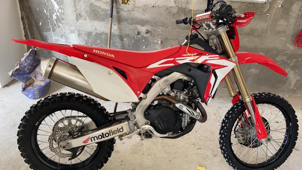 Honda 450X ano 2019