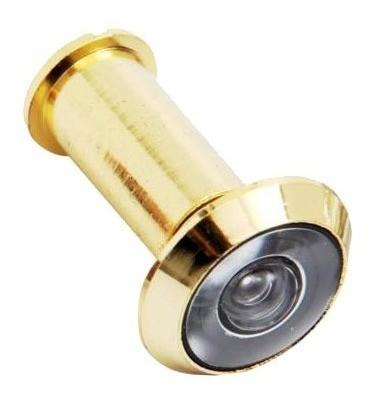 Kit 2 Olho Mágico Visor Para Porta Brasfort Dourado