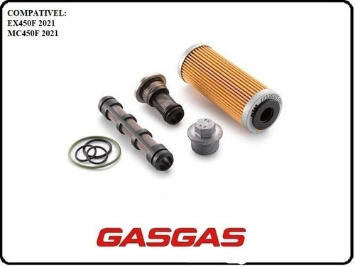 Kit De Filtro De Oleo Gasgas Ex450f Mc450f 2021 79438015010