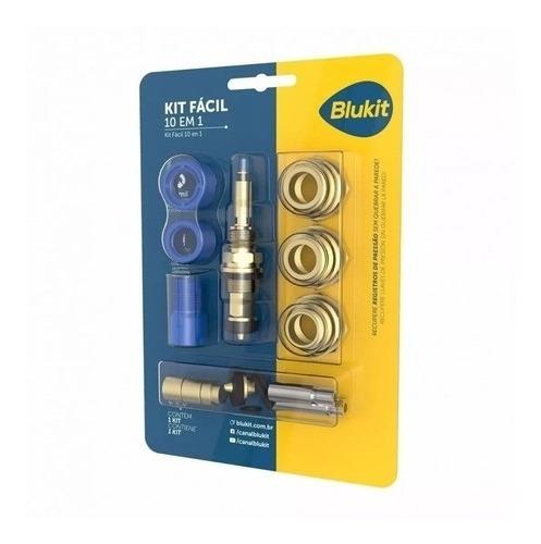 Kit Fácil Salva Registro 10 Em 1 Blukit Fácil Instalação