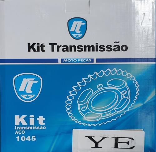 Kit Relação Honda Cg/titan 150 Aço 1045 Reforçada