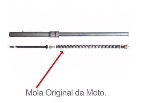 - Kit Suspensão Crf 230 Valvula + Regulador + Alongador