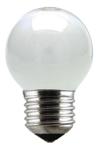 Lâmpada Geladeira Fogao Micro-ondas 40w 127v E27 Leitosa