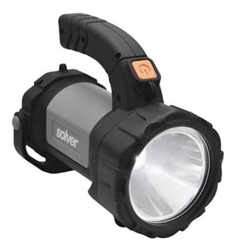 Lanterna Recarregável Holofote Solver Led 5w
