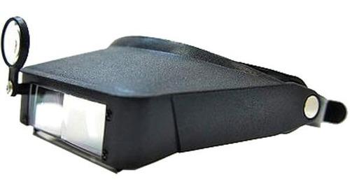 Lupa Pra Cabeça C/ Lentes Intercambiáveis Solver Slc-1008