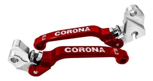 Manete Retrátil Kit (freio+embreagem) Honda Crf 230/250 Corona