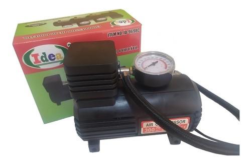Mini Compressor Veicular 12 Volts 300 Psi Pneu Bola Colchão