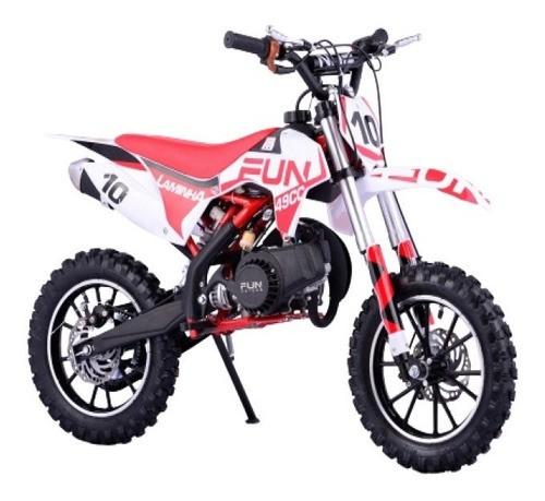 Mini Moto Cross 49cc 2 Tempo Partida Elétrica