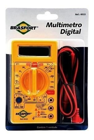 Multímetro Digital Brasfort Pro-8522 69238