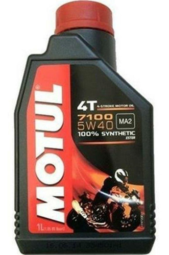 Oléo Motul 4t 5w40 100% Synthetic