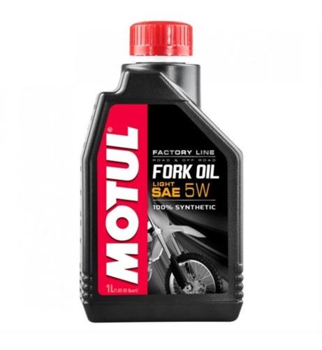 Óleo Motul Fork Oil Factory Light 5w 6/1l