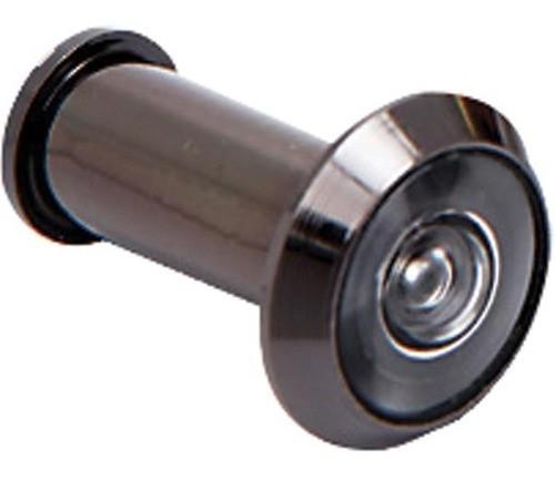 Olho Mágico Visor P/ Porta Preto Brasfort