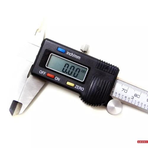 Paquímetro Digital Aço Inoxidável 150mm - Mtx + Estojo