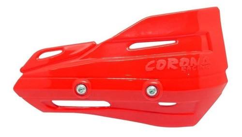 Plástico De Reposição Do Prot De Mão Honda Vermelho Corona