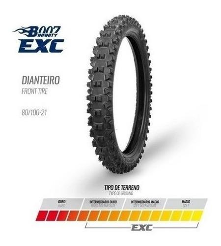 Pneu Dianteiro 80/100-21 Exc Borilli Racing