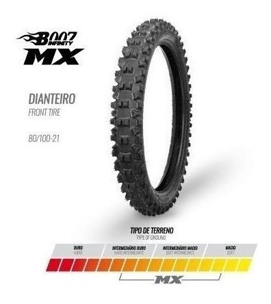 Pneu Dianteiro 80/100-21 Mx Borilli Racing