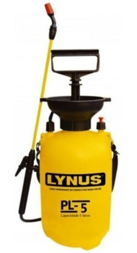 Pulverizador Manual Com Tanque De 5 Litros Lynus Pl-5