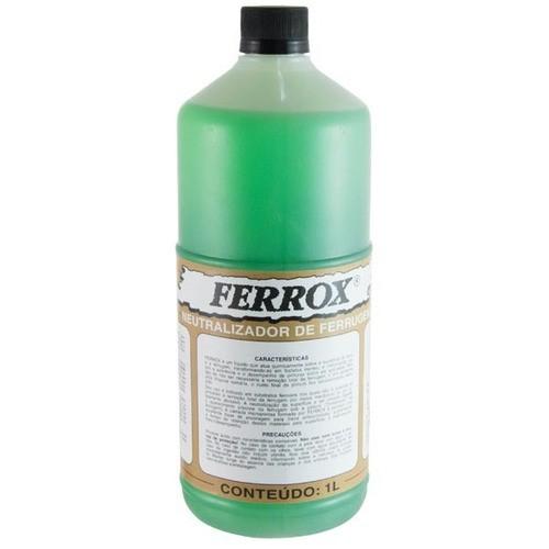 Removedor Neutralizador De Ferrugem Ferrox 1 litro