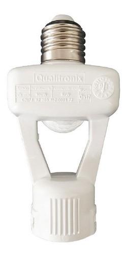 Sensor De Presença 360o C Soquete E27 Qualitronix Qa17m