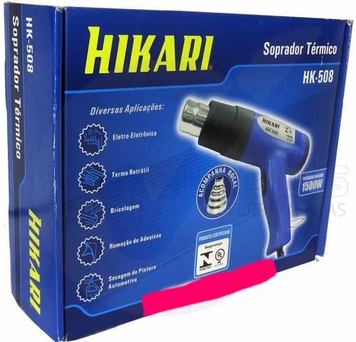Soprador Térmico Hikari 1500w Regulagem Temperatura Hk-508