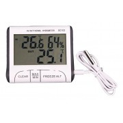 Digital Termômetro e higrômetro - interno - externo