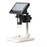 Lupa Conta-fio Microscópio Eletr. Digital 1000x Usb Tela 4.3