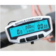 Velocímetro Computador Bike Wired Sem Fio Luz Noite 28 Funções