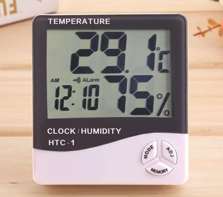Digital Termômetro e higrômetro - HTC-1