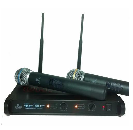 Microfone Sem Fio Profissional Wireless Ku-65 Padrão Shure