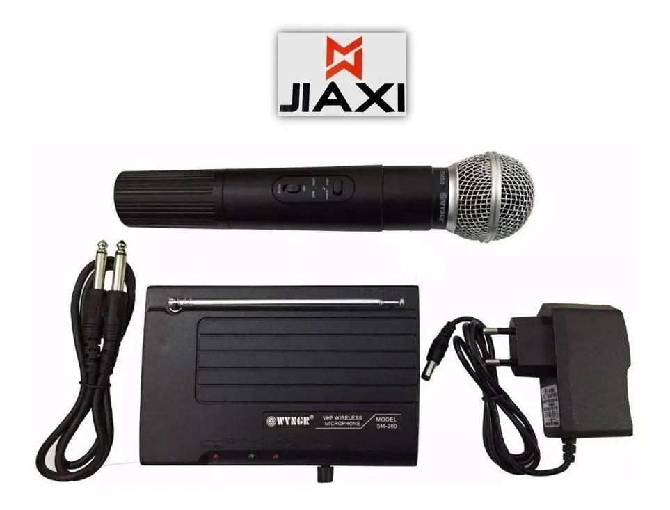 Microfone Sem fio SM-200