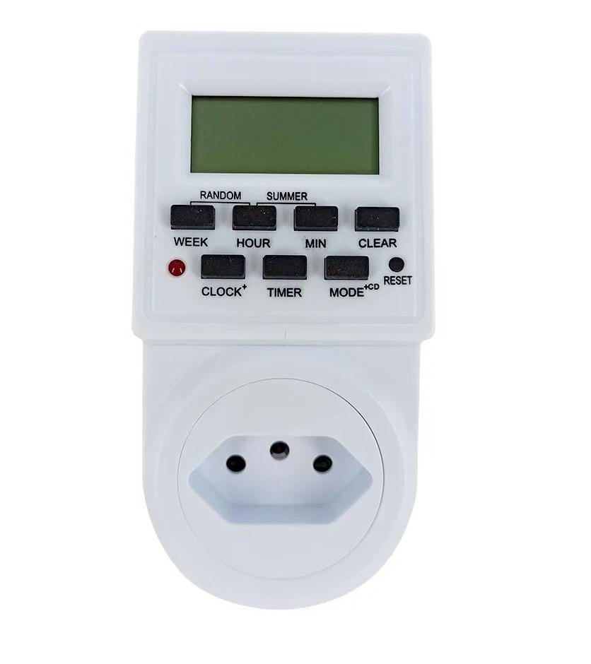Timer Piscina Temporizador Digital Automático Bivolt 10a