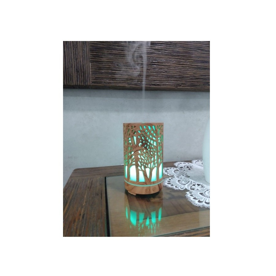 Umidificador Aromatizador Difusor Eletrico C/ Leds Coloridos