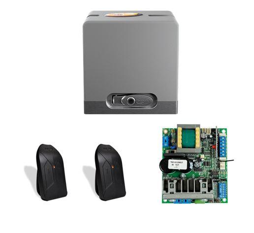 DZ Hub 550 Jetflex 1/4 HP - Kit Motor Deslizante Residencial Ultrarrápido (abertura em 4 Segundos)