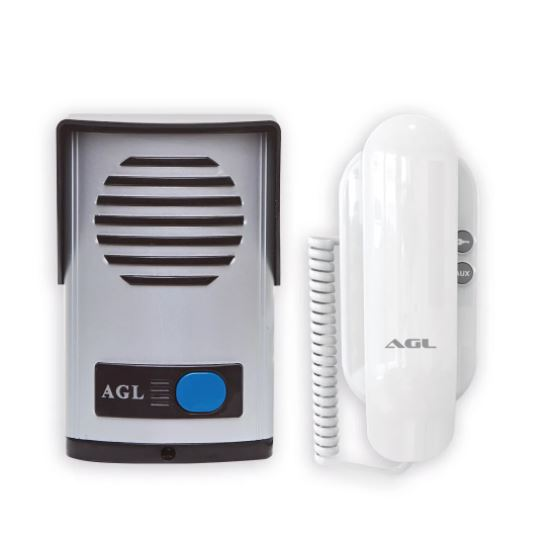 Kit Interfone Porteiro Eletrônico AGL P10S
