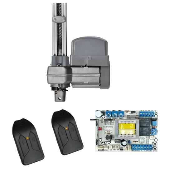 Penta Predial SP 1/2 HP PPA - Kit Motor Basculante para Condomínios Rápido (Abertura em 10 segundos)