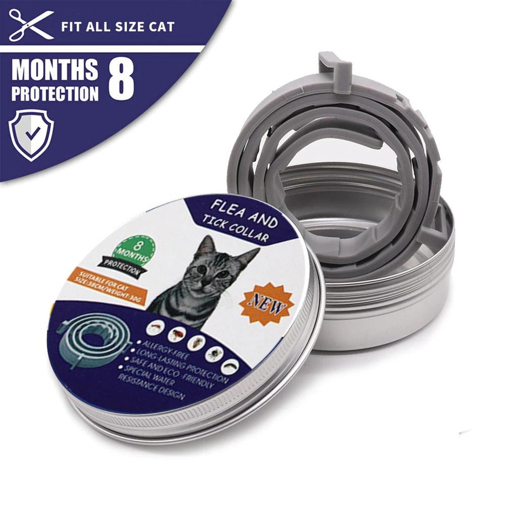 Coleira Anti Pulgas Para Gato 100% Natural kit 04
