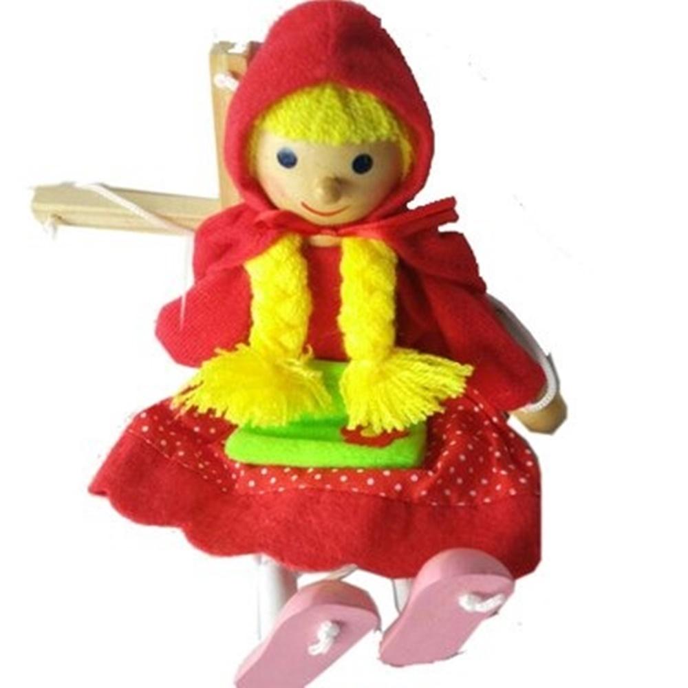 Fantoche Marionete Chapeuzinho vermelho