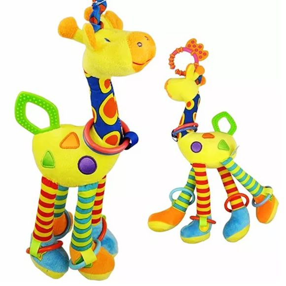 Girafa de atividades com argolas