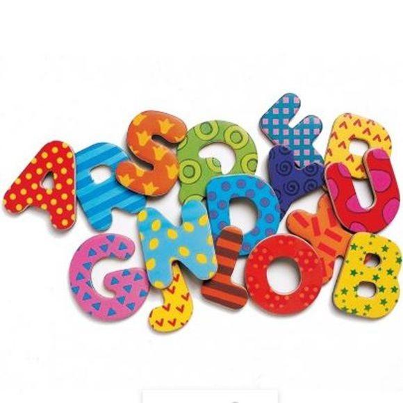 Letras e Números com ímãs educativo
