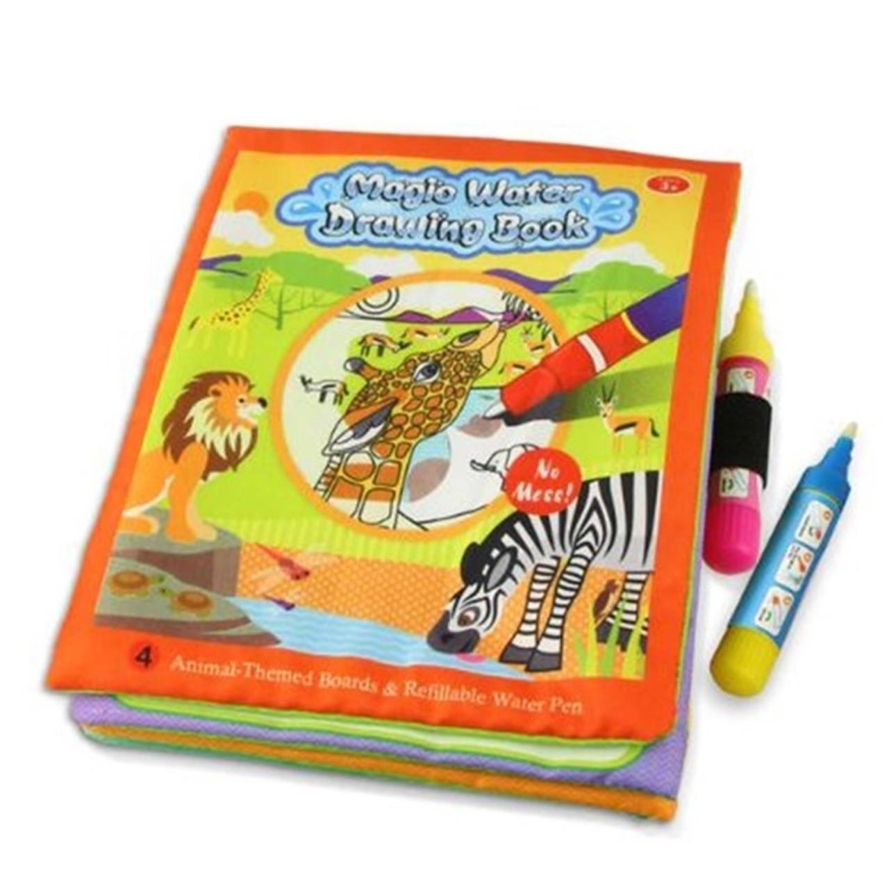 Livro para colorir caneta mágica base d?água