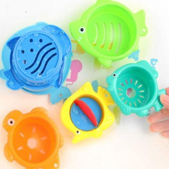 Potinhos para o banho - kit 06 peças