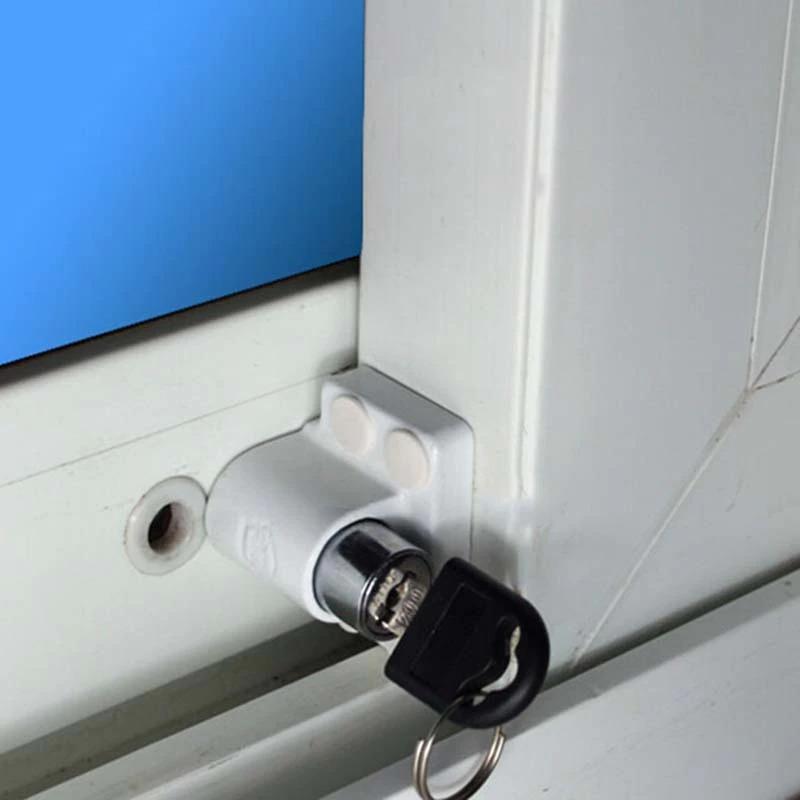 Trava janela de correr com chave