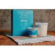 Caixa com 6 Iogurtes naturais de leite de ovelha - 120g/cada