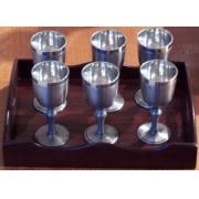 Conjunto de cálices para licor (CNJ023)