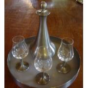 Conjunto de licoreira e taças/cálices (CNJ015)