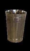Copo para água com duas linhas e textura ranhurada - capacidade 400ml (P5DC)