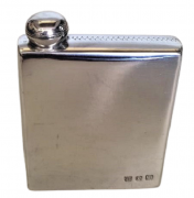 Garrafinha de bolso para whisky de Estanho (P73)