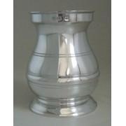 Recipiente estilo pilão em Estanho - kit caipirinha 1 peça (P442)