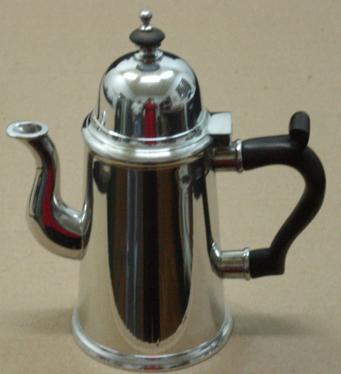 CAFETEIRA RETA h : 17,5cm (P218C)